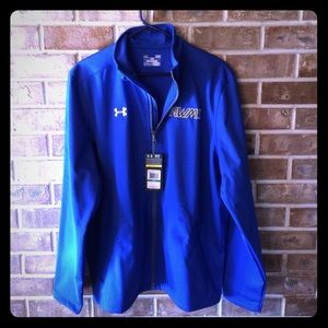 Under Armour Blue lightweight coat with pockets